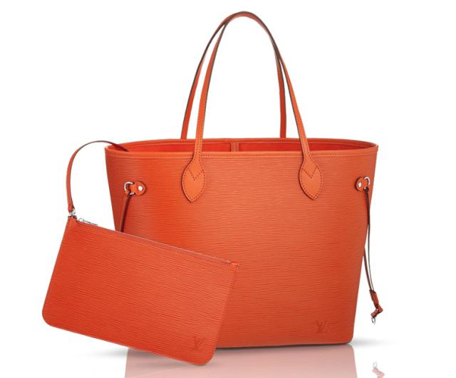 Louis Vuitton Epi Neverfull Bag Piment