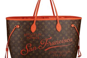 Louis Vuitton Releases Limited Edition Neverfull for America's Cup Pop-Up Shop