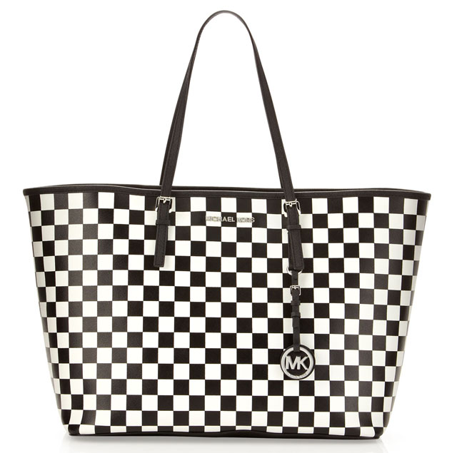 MICHAEL Michael Kors Check Print Jet Set Travel Tote PurseBlog