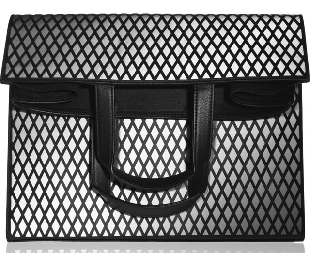Maison Martin Margiela Convertible Fold-Over Mirror Clutch
