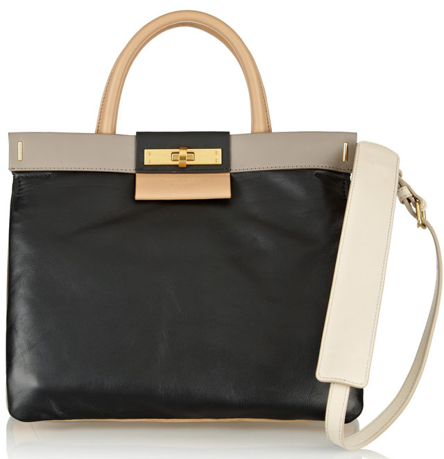 Marc by Marc Jacobs East End Colorblock Madame Hilli Tote