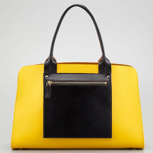 Marni Colorblock Shopping Tote