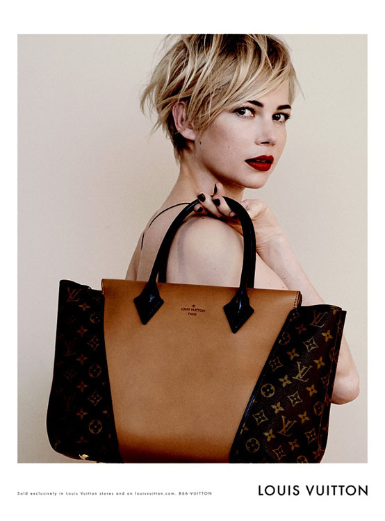 Louis Vuitton Taps Michelle Williams For Its Latest Ad Campaign ...