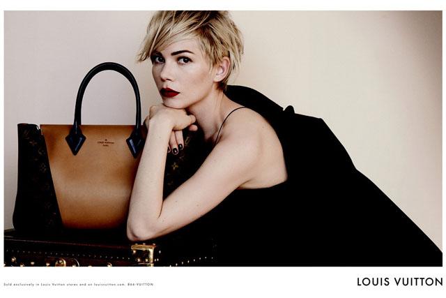 911da42bb7 Louis Vuitton Taps Michelle Williams For Its Latest Ad Campaign ...