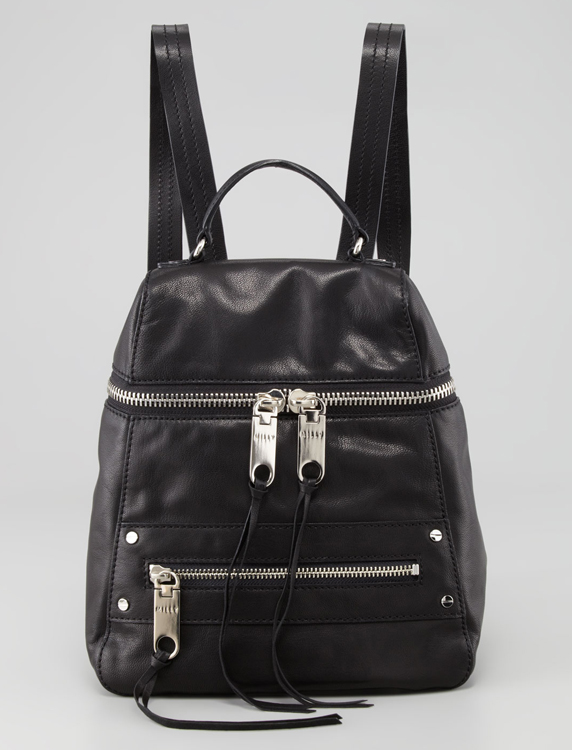 Milly Riley Leather Backpack