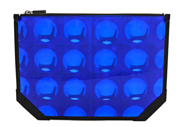 Mugler Mirror Hologram Clutch