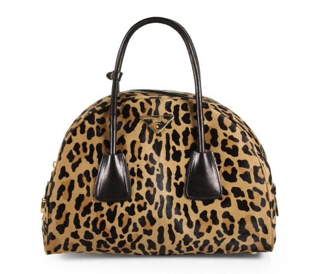 Prada Cavallino Bowler Bag