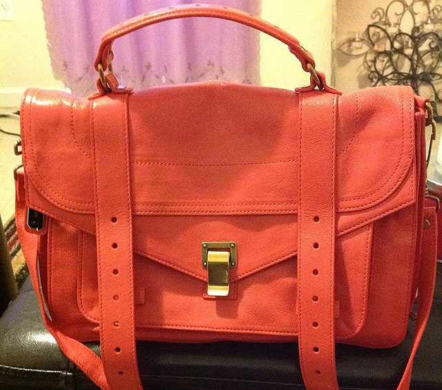 Proenza Schouler PS1 Bag Coral