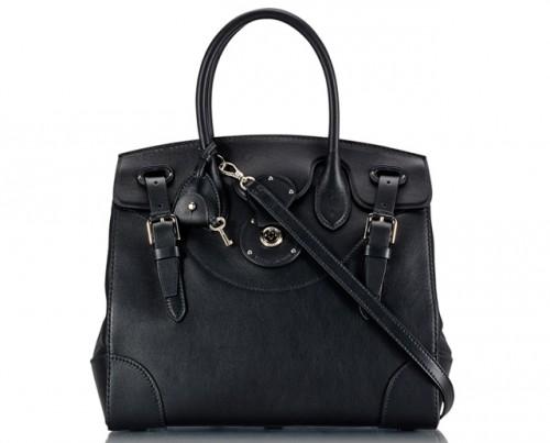 Ralph Lauren Soft Ricky Bag Black