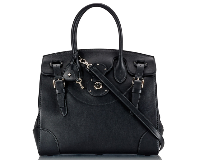 Ralph Lauren Soft Ricky Bag Black
