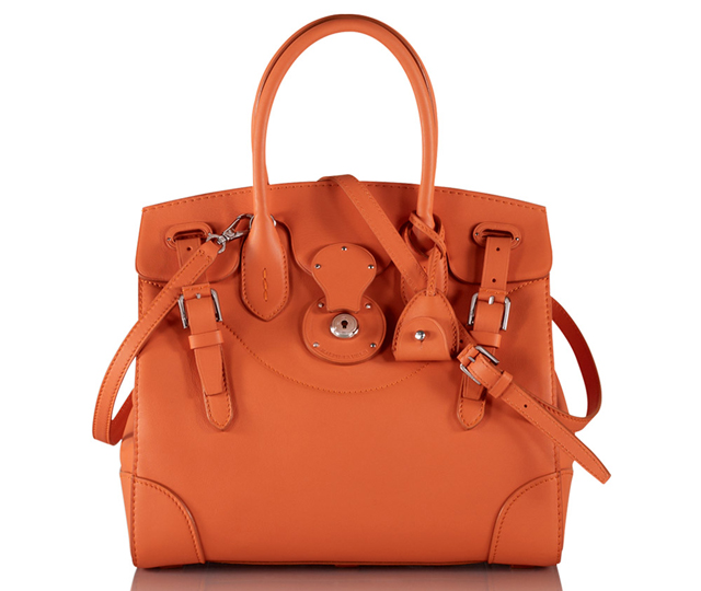 Ralph Lauren Soft Ricky Bag Orange