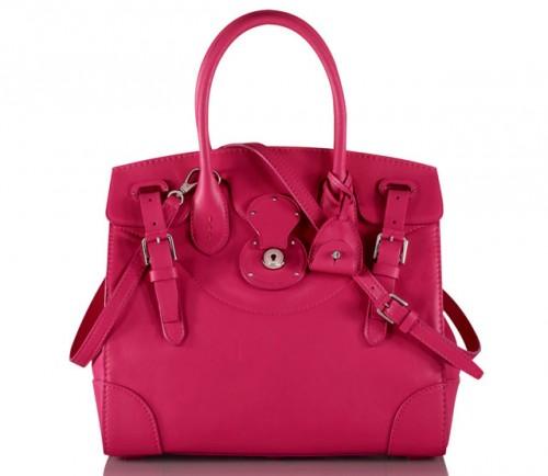 Ralph Lauren Soft Ricky Bag Pink
