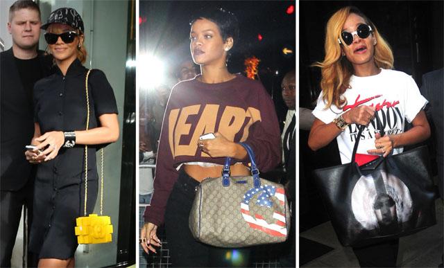The Many Bags of Rihanna Part 2