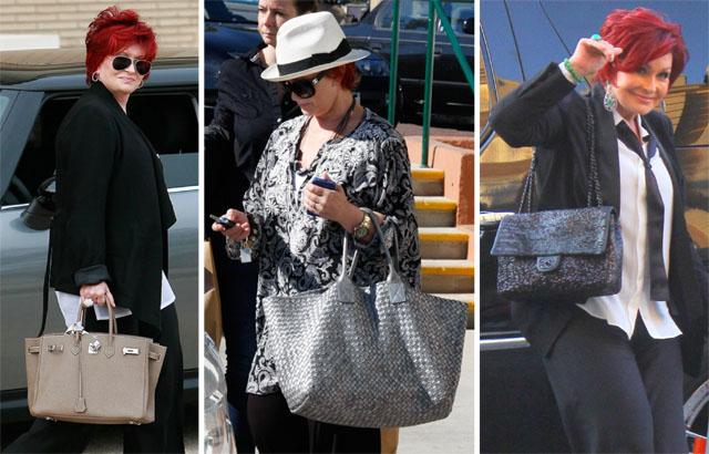 The Many Bags of Sharon Osbourne