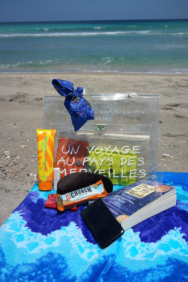 Whats in my Hermes Kelly Beach Bag-23