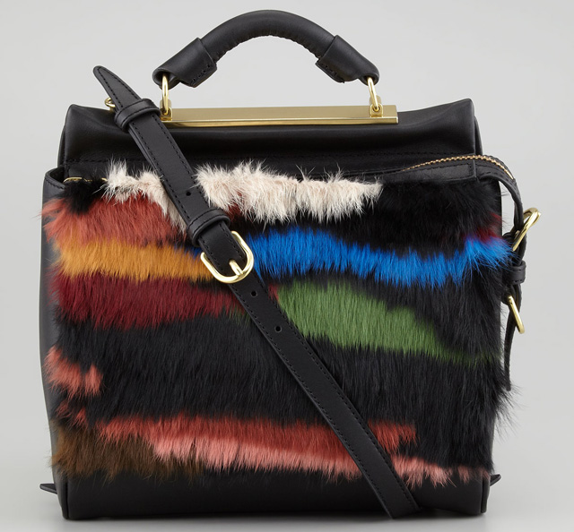 3.1 Phillip Lim Ryder Small Fur Crossbody