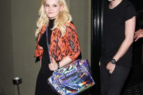 Abigail Breslin Steps Out for Dinner With a Flashy Milly Tote
