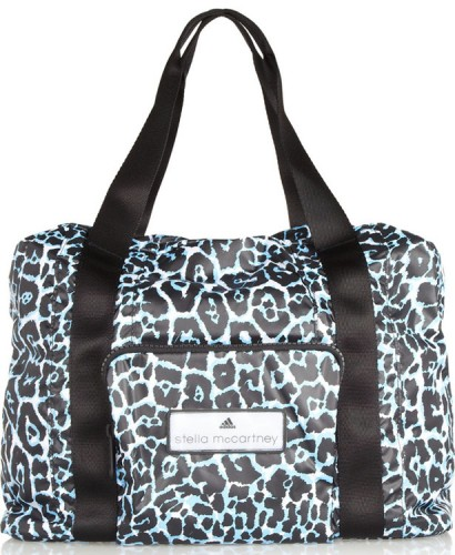 Adidas by Stella McCartney Leopard Print Taffeta Bag