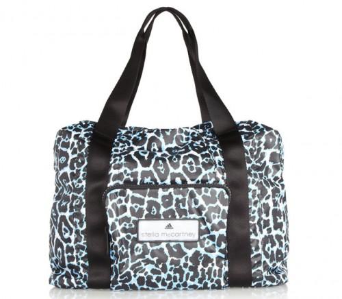 Adidas by Stella McCartney Leopard Print Taffeta Bag Wide