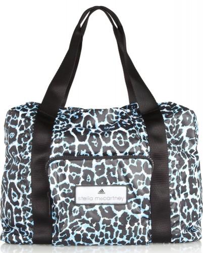 Adidas by Stella McCartney Leopard Print Taffeta Bag