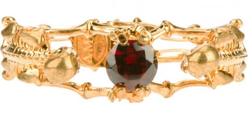 Alexander McQueen Skeleton Bracelet