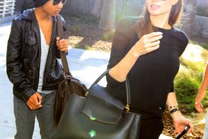 Angelina Jolie Debuts the Brand New Louis Vuitton Capucines Bag