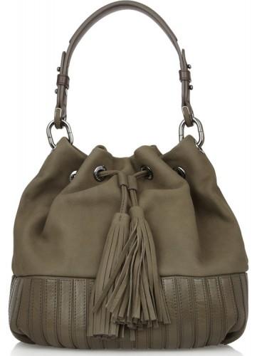 Anya Hindmarch Rhodes Leather Shoulder Bag
