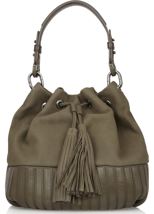 Anya Hindmarch Rhodes Leather Shoulder Bag
