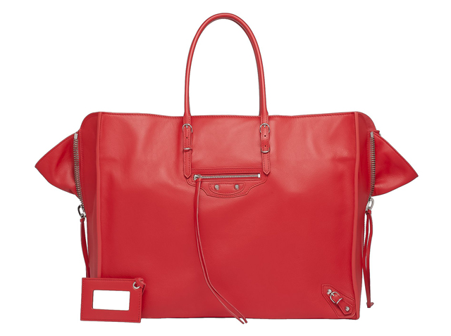 balenciaga tote bag red