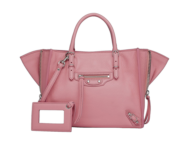 Balenciaga Papier Mini A4 Zip Around Tote