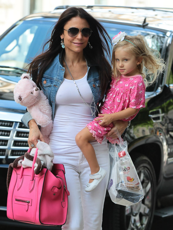 where to buy celine bags online - Bethenny Frankel Totes a Toddler and a Celine Bag - PurseBlog