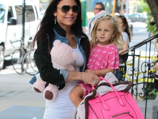 Bethenny Frankel carries a Celine Luggage Tote in NYC (5)