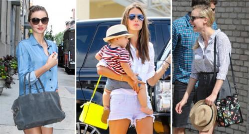 Celebrity Handbag Moments Summer 2013
