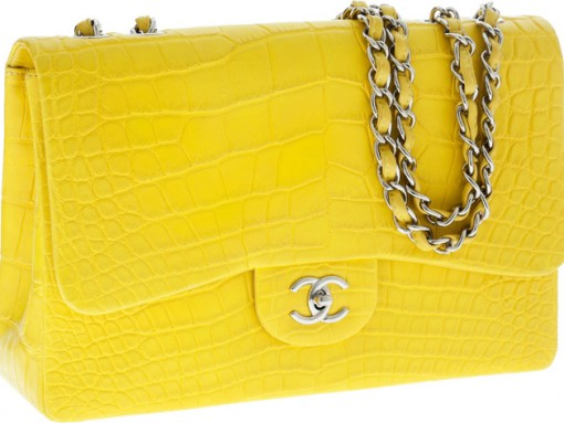Chanel Classic Flap Bag in Alligator