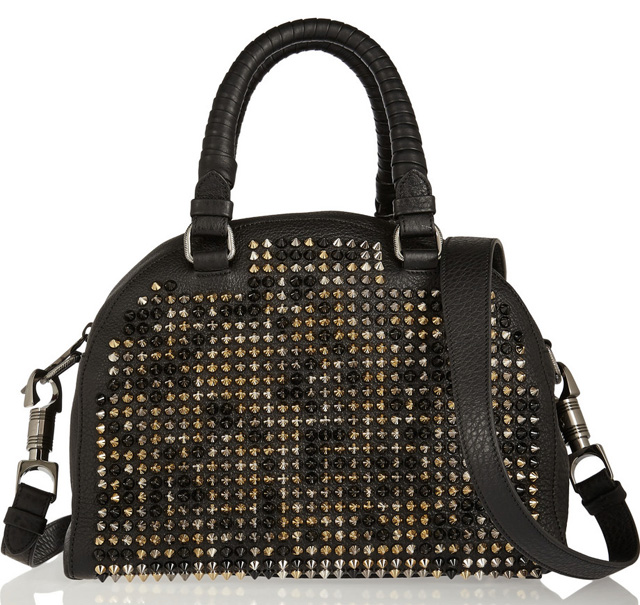 Christian Louboutin Panettone Spiked Shoulder Bag