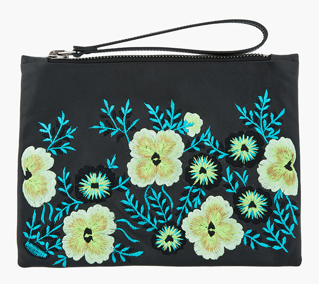 Christopher Kane Embroidered Pouch