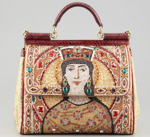 Dolce & Gabbana Miss Sicily Queen Regina Satchel