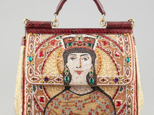 """Fill in the Blank: """"The Dolce & Gabbana Miss Sicily Queen Regina Satchel is the most…"""""""