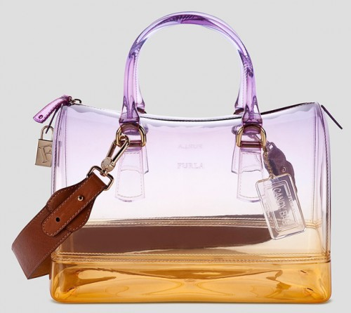Furla Candy Crystal Degrade Satchel
