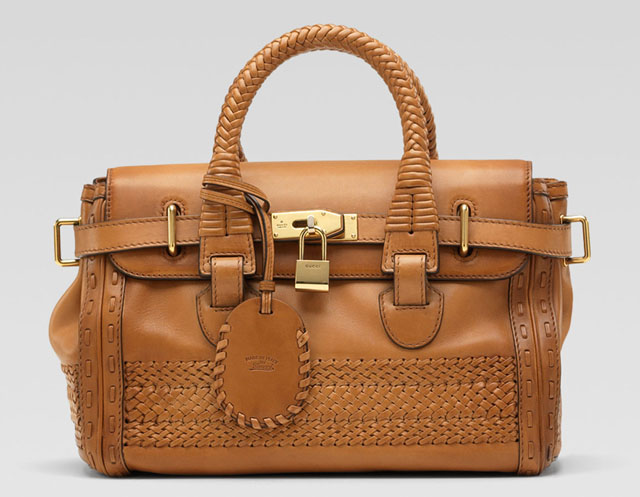 Gucci Handmade Medium Top Handle Bag