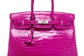 Hermes Birkin 35cm Rose Scheherazade Crocodile