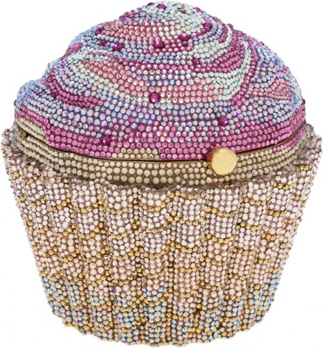 Judith Leiber Cupcake Minaudiere