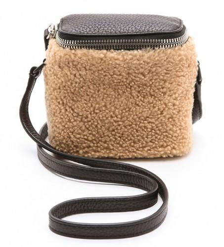 KARA Stowaway Shearling Bag