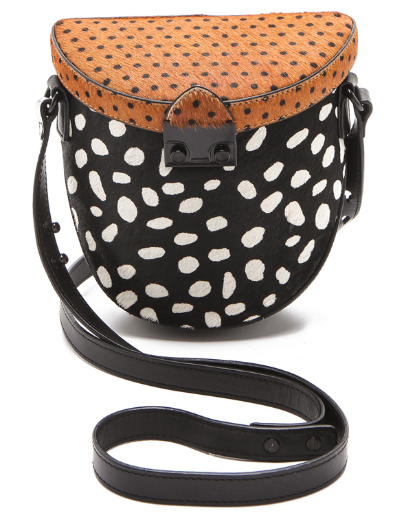 Loeffler Randall Haircalf Shooter Bag
