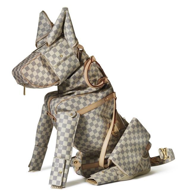 Louis Vuitton Billie Achilleos Leather Animal Sculptures (3)