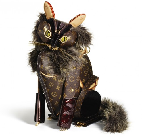 Louis Vuitton Billie Achilleos Leather Animal Sculptures (2)