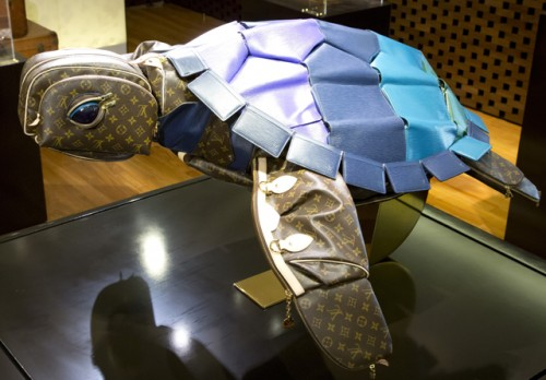 Louis Vuitton Billie Achilleos Leather Animal Sculptures (10)