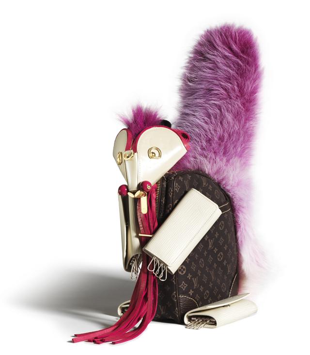 Louis Vuitton Billie Achilleos Leather Animal Sculptures (8)