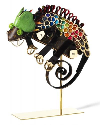 Louis Vuitton Billie Achilleos Leather Animal Sculptures (7)