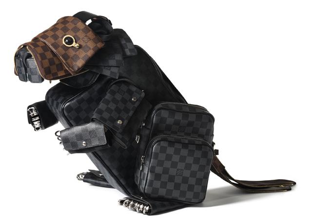 Louis Vuitton Billie Achilleos Leather Animal Sculptures (5)